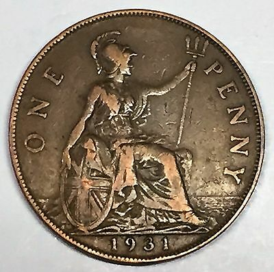 C3548    Great Britain   Coin,    Large Penny    1931