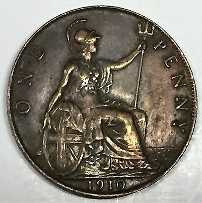 C3546    Great Britain   Coin,    Large Penny    1910