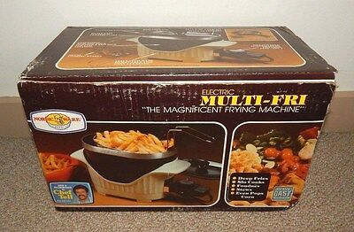 1982 Nordic Ware Electric MULTI-FRI (Magnificent Frying) ~ Made in USA ~ UNUSED
