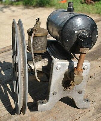 Original Air Compressor David Bradley Tractor Hit Miss Gas Engine