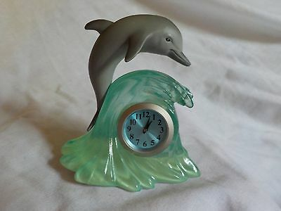 Small Grey Dolphin with Clock