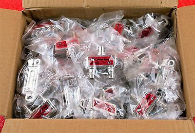 LOT OF 25 COMMSCOPE SIGNAL VISION 2 WAY COAX CABLE SPLITTER SV-2G NEW #OV
