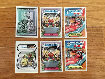 Garbage Pail Kids 2017 Lord of the Flyes Festival Set of 6