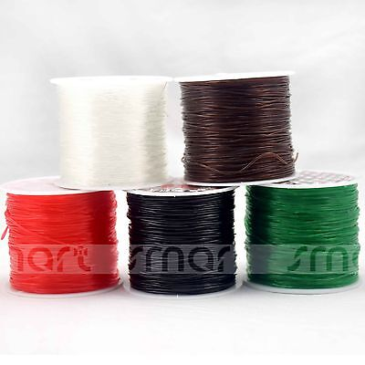 1 Roll Strong Crystal String Lines For Beads Jewerly Making Material  5 Color Op