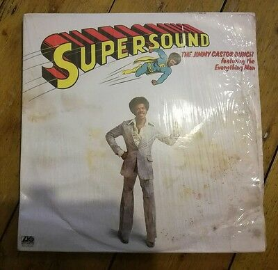 The Jimmy Castor Bunch Featuring The Everything Man - Supersound Lp Sd18150 Vg+!