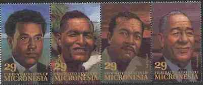 Micronesia 177 MNH Famous Men, Local Leaders