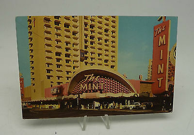 VTG POSTCARD famous mint casino and hotel center las vegas nevada  A-67