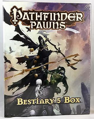 BESTIARY 5 BOX Paizo RPG Role Play Game PATHFINDER PAWNS Cardstock Miniatures