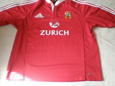 British & Irish Lions Rugby Union Shirt 2005 New Zealand Size Xl Xlarge Adult  2