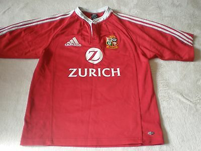 British & Irish Lions Rugby Union Shirt 2005 New Zealand Size S Small Adult  3