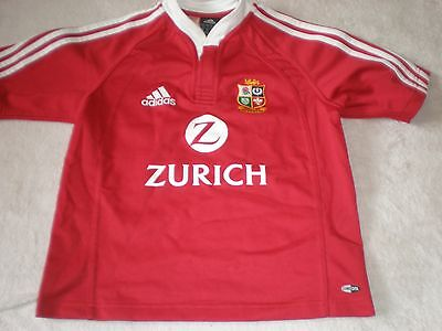 British & Irish Lions Rugby Union Shirt New Zealand 2005 Size 28-30 140 Cm    17