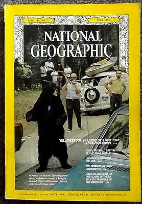 National Geographic May 1972 - This Is  'the One '   For The  Leftovers  Fans