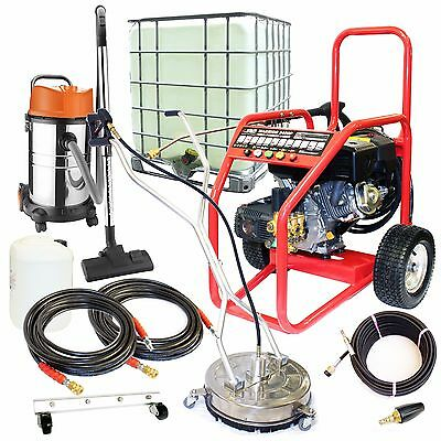£15/WEEK on LEASE Business Pack Petrol Pressure Washer Driveway Drain Cleaning