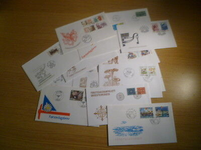 Norway - 18 unaddressed FDCs - Ref YE3