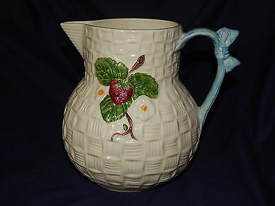 Shorter And Son Strawberry Jug With Certificate Of Authenticity
