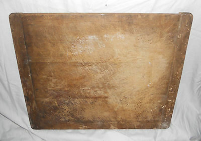 STUNNING Vintage TRADITIONAL Large Wooden KITCHEN CHOPPING BOARD Wood HEAVY