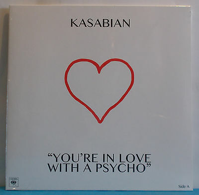 """KASABIAN You're In Love With A Psycho - Record Store Day 2017 10"""" - RSD"""
