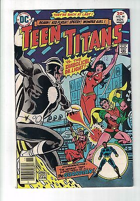 DC COMIC Teen Titans no 44 Nov 1976 30c