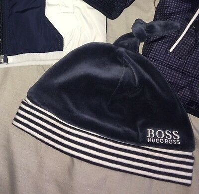 Worn Once Hugo Boss Navy Hat Size 42
