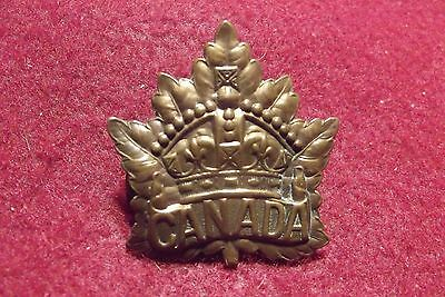 WW I CEF Cap Badge To The General List