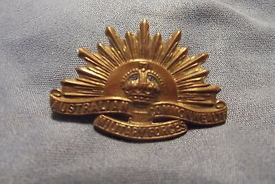 A WW I Collar Badge To The Australian Commonwealth Military Forces