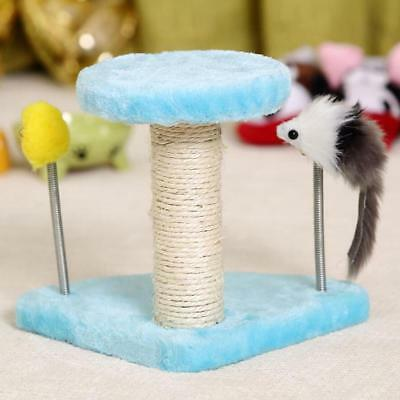 Magideal Cute Cat Climber Kitten Exercice Scratcher Activity Center Condo