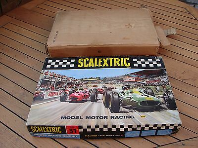 Scalextric Set 31 Vintage Boxed 1966 / 1967 Porsche & BRM Cars Global Shipping