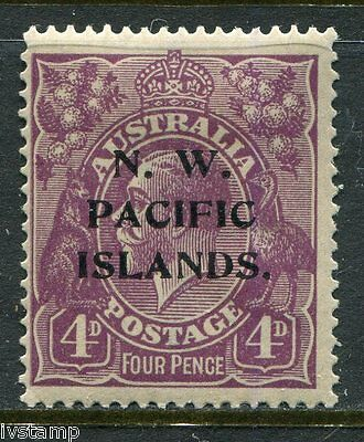 Australia N W Pacific Islands #47 SG#123  P over IS  mint hinged