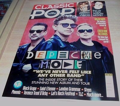 Classic Pop magazine Issue #30 JUL 2017 Depeche Mode, Goldfrapp, Saint Etienne &
