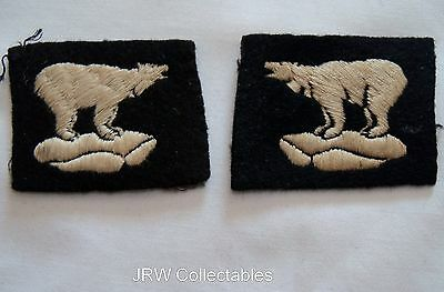 "Original WW2:""49th DIVISION EMBROIDERED PATCHES"" (For Army Battledress Blouse)"