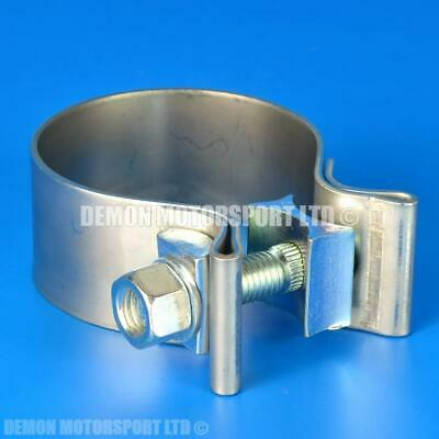 "2.25"" inch Exhaust T Bolt Clamp (60mm to 55mm) HEAVY DUTY"