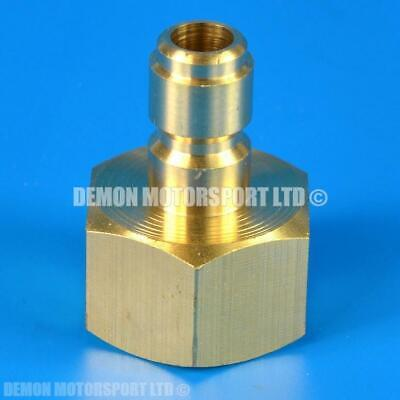 Pressure Washer Jet Wash M22 female to 11.6mm Quick Release male Brass Connector