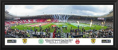 "SPFL Betfred 2017 Cup Final 30"" Premium Panoramic Frame"