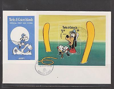 Turks & Caicos Is.- Lot 2011,  Mint, First Day. Disney.
