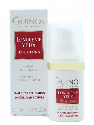 Guinot Longue Vie Yeux Eye Lifting Smoothing Eye Care - Women's For Her. New