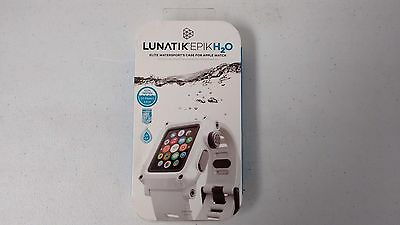 Lunatik Epik H2O Epik-019 Watersports Case and Band 42mm Apple Watch - White NEW