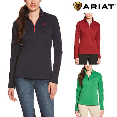 Ariat Conquest Ladies 1/4 Zip Top **SALE **FREE UK Shipping**