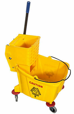 36L Single Mop wringer trolley Kentucky mop bucket all colours