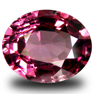 1.83 ct AAA+ Charming Oval Shape (9 x 7 mm) Pinkish Red Rhodolite Garnet