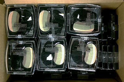 Wholesale Lot Of 65 L'Oreal One Sweep Eyeshadow Playful For Green Eyes