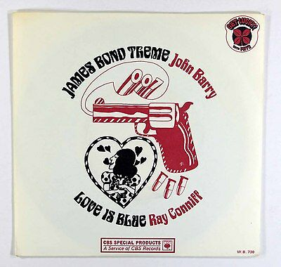 "John Barry - James Bond Theme (UK 7"" in Picture Sleeve) Excellent+ Vinyl"