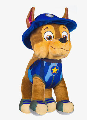 """New Official 12"""" Paw Patrol Jungle Chase Pup Plush Soft Toy Nickelodeon Dogs"""
