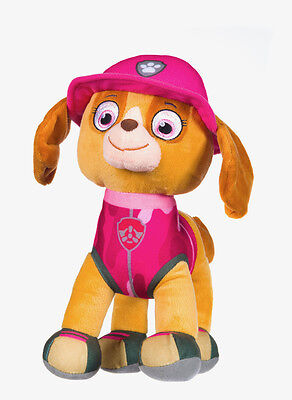 "New Official 12"" Paw Patrol Jungle Skye Pup Plush Soft Toy Nickelodeon Dogs"