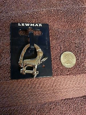 Lewmar 29925040 Snap Shackle Stainless, for 40mm, 50mm synchro, 2992-5040