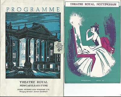 Great Collection Of Theatre Programmes- Featuring Lots Of Stars