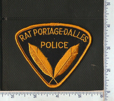 for auction,1 First Nations Police shoulder patch,RAT PORTAGE-DALLES,ONT
