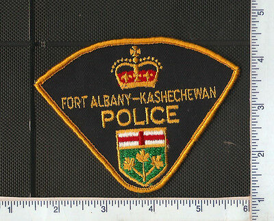 for auction,1 First Nations Police shoulder patch,FORT ALBANY-KASHECHEWAN ,ONT