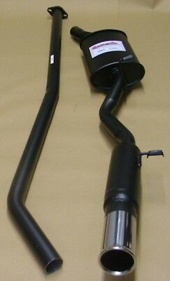 Ford Fiesta Mk2 XR2 Sportex Exhaust System Single 3""
