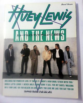 Huey Lewis And The News Super Best Band Score Japan Guitar Tab