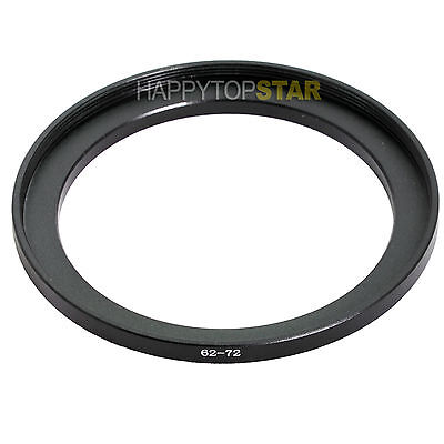 62mm to 72mm 62-72 mm Male to Female Step Up Lens Filter Ring Adapter Adaptor